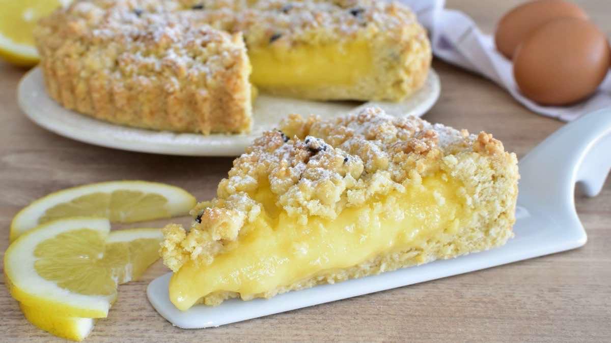 Tarte au citron Cyril Lignac à la crème pâtissière