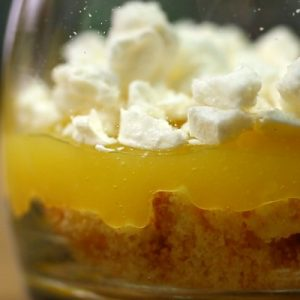 verrine creme au citron